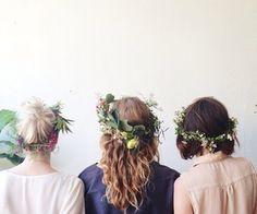 homemade, diy flower headbands