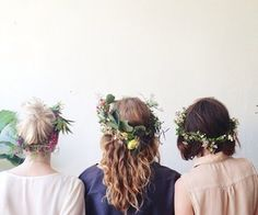 homemade, diy flower headbands