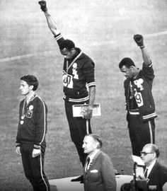 The Black Power Salute 1968, Tommie Smith and John Carlos