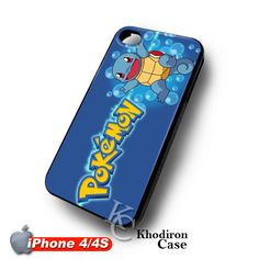 iOffer: Blue Squirtle Pokemon Character iPhone 4 4S Case for sale on Wanelo #Blue #Squirtle  #iphone4 #iphone4s #case