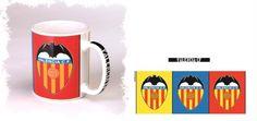 Valencia C.F. Taza Mug Colores - Taza Mug Colores Valencia C.F.
