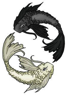 8bcfb56748b Koi Fish Tattoo .... Somehow need to incorporate a pisces symbol or may