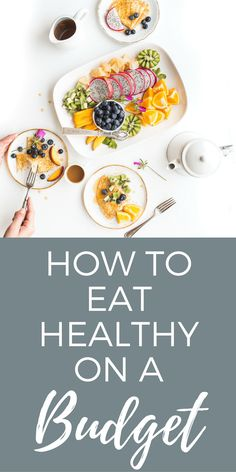 How to Eat Healthy on a Budget | Eating healthy can be a challenge, as can eating on a budget. Unfortunately, that means eating healthy on a budget can sometimes feel impossible. But it's not! Over the last several years I've learned some great strategies for eating healthy on a budget, and I'm sharing those with you in this post.