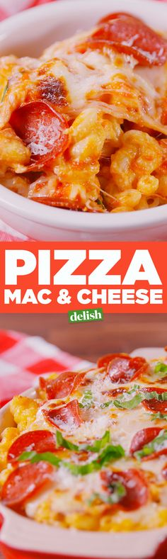 Pizza Mac & Cheese - Delish.com