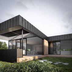 Black exterior + black aluminium windows | x02-2.jpg