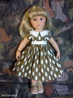 Платья для кукол Гётц ростом 50 см. / Одежда для кукол / Шопик. Продать купить куклу / Бэйбики. Куклы фото. Одежда для кукол