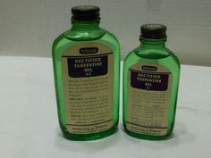 Rectified Oil of Turpentine - McKesson & Robbins Inc. New York - Bridgeport