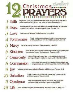 12Christmas Prayers