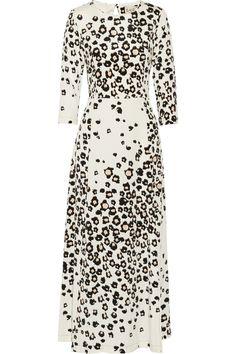 SEA|Leo printed stretch-silk maxi dress|NET-A-PORTER.COM