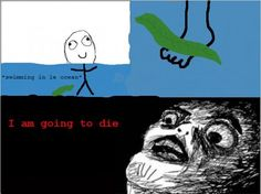 every time i swim in the ocean