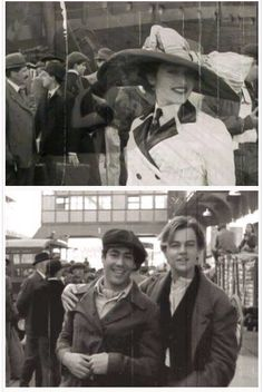 Old-fashioned Titanic pictures