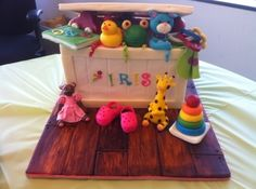 Iris' Toy Box Cake By SweetDreams_DK on CakeCentral.com