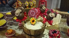 Fazendinha da decoradora Marcia Colonese Personal Party em festa realizada no buffet Miniland no Tatuapé