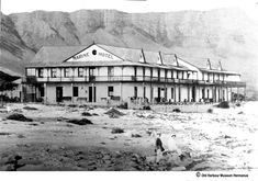 The Grand Old Lady, also known as the Marine Hotel in Hermanus Herd Of Elephants, Five Star Hotel, Seaside Towns, How To Buy Land, Cape Town, Old Women, Marines, Old Things, Tours
