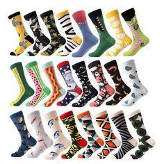 Product Name MYORED 1 pair men socks combed cotton cartoon animal bird shark zebra corn watermelon sea food geometric novelty funny socks Pr. Mens Novelty Socks, Sock Animals, Funny Socks, Happy Socks, Happy Fun, Cool Socks, High Top Sneakers, Canada, Pairs