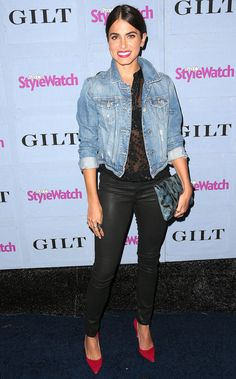 Now's the Time to Break Out Your Denim Jacket Nikki Reed