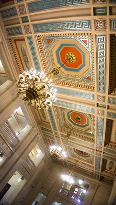 ceiling goals at Parliament Buildings, NI