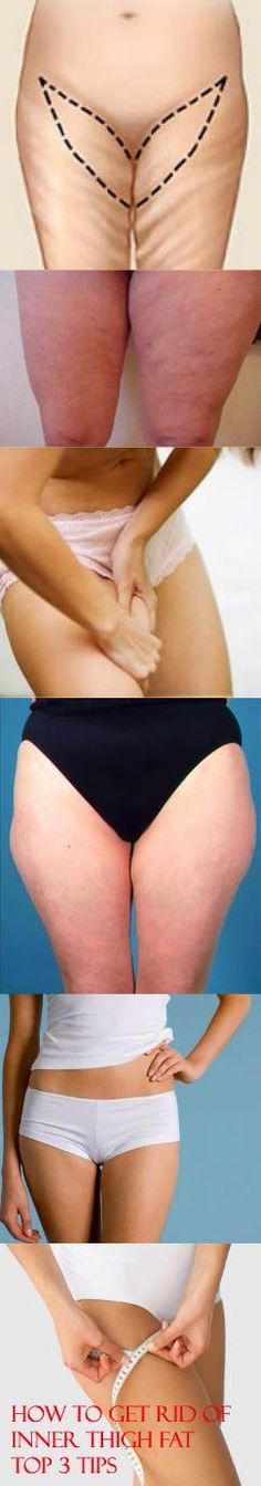 How to Get Rid of Inner Thigh Fat-Top 3 Tips | HEALTHYLIFE