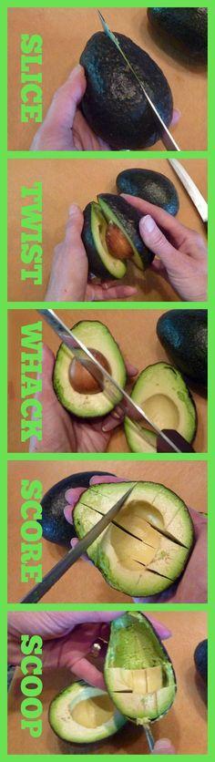 How to dice an avocado like a pro!