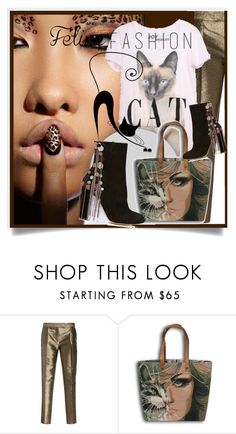 """""""Feline Fashion"""" by kari-c ❤ liked on Polyvore featuring Elie Saab, Sephora Collection, Chloé and catstyle"""