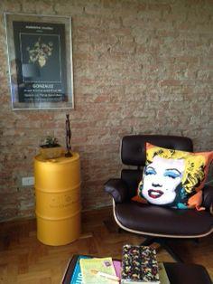 Veuvé Clicquot #veuveclicquot  #drum #oildrum #industrialdesign #barril #rebecaguerra #lata #decoração