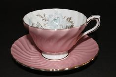 Aynsley Bone China Teacup and Saucer by CraigsTreasures on Etsy, $28.00