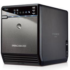 "Mediasonic ProBox HF2-SU3S2 4 Bay 3.5"" Hard Drive Enclosure - USB 3.0 & eSATA, Support SATA 3 6.0Gbps hard drive transfer rate"