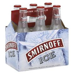 i have tried many flavors of smirnoff, whether it be just a bottle of alcohol or wine coolers but smirnoff ice is one of my lesser favorites. Smirnoff Ice Original, Strawberry Kiwi, Beverages, Drinks, Natural Flavors, Water Bottle, Alcohol, Good Things, Bottles