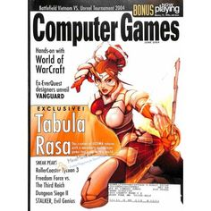 Cover Print of Computer Games Magazine, June 2004 | $6.60