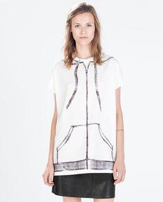 Image 1 of SHORT SLEEVE T-SHIRT from Zara