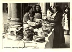 Fiesta de San Blas 1950. Archivo Municipal de Pamplona. Colección Arazuri (Galle) #Pamplona