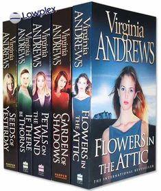 v c andrews books in order | ... in the Attic Virginia Andrews Collection 5 Books Set New RRP £ 34.95