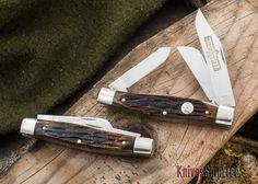 Queen Cutlery: #49 - Cattle King - Stag Bone - D2 Steel