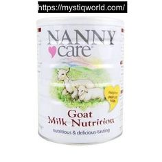 First Infant Milk 400g  Nannycare                                                                                Sale price                                         £10.90                                          Regular price                                £12.45                                         Nanny-Nanny Goat Milk Nutrition (400g)  Nutritionally, goat milk has certain physical properties, in relation to its curd formation and fat characteristics, which suggest that it can be more…
