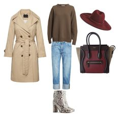 """""""Фактуры"""" by kati-style-istanbul ❤ liked on Polyvore featuring Brunello Cucinelli, CÉLINE and Forever 21"""