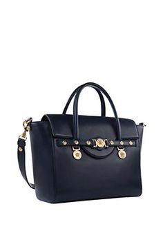 Large Signature Handbag VERSACE