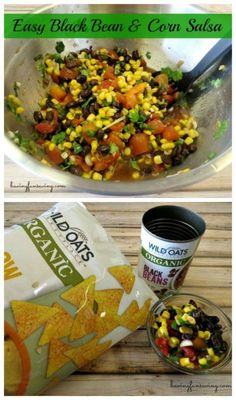 Black Bean and Corn Salsa recipe on Having Fun Saving and Cooking.  Perfect for Cinco de Mayo from Having Fun Saving and Cooking.