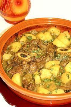 Destination le Maroc avec ce tajine facile à préparer et parfumé au ras el hanout, produit typique du Maghreb d'un mélange raffiné d' une vingtaine d'épices…J&…