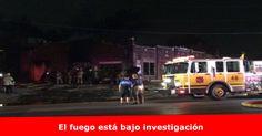 Bomberos apagan incendio en un edificio en las calles 13 y Kavan Más detalles >> www.quetalomaha.com/?p=5814