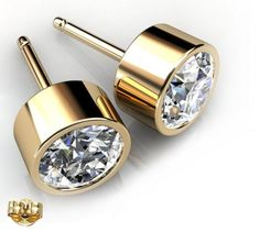 Rhodium Plated Diamond Color Round 6mm Stud Earrings made with Swarovski Crystals. #Glimmering #swarovskistudearrings #swarovskistuds #swarovskiearrngsstuds Shop Now: http://www.glimmering.co.in/earrings/swarovski-stud-earrings.html