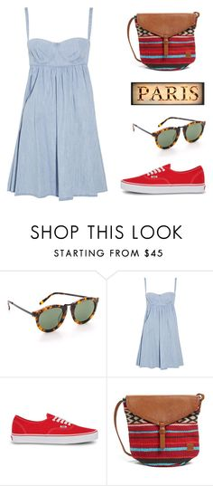 """""""MINI DRESS DENIM!!!"""" by beautifulnoice ❤ liked on Polyvore featuring Karen Walker, See by Chloé, Vans, Billabong, women's clothing, women, female, woman, misses and juniors"""