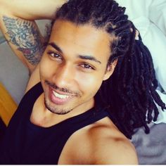 Because I never post men with locs..
