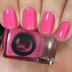 """Cirque Colors: Metropolis Collection - """"Nolita Lolita"""" was also released in June and it's a warm-toned medium pink creme. Again, perfect and effortless formula. 2 lovely coats."""