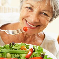 Elderly Diet Problems. Nutrition and the Elderly. Ruth Frechman, M.A., a registered dietician and spokeswoman for the Academy of Nutrition and Dietetics, debunks some common myths about senior nutrition and offers advice for caregivers: