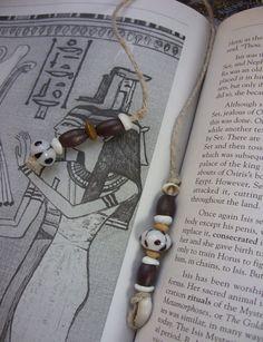 Tribal Escape Hemp Bookmarker by The Gypsy Bead, $8.00, via Etsy.