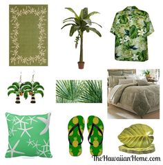 Tropical Green for St Patrick's Day - The Hawaiian Home