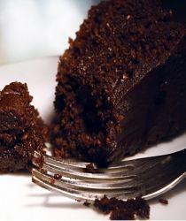 moist chocolate cake- semi homemade cake mix plus silken tofu! Works like a charm!