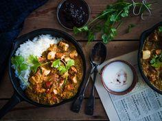 Intialainen tofucurry (V, GF) – Viimeistä Murua Myöten