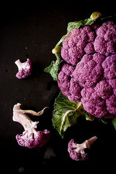 Purple Cauliflower...truly a thing of #beauty! #vegetables