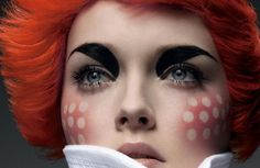Want to do these cheeks. This would be an awesome Raggedy Ann.